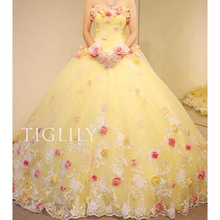 54d555e3dcb60 ウェディングドレス(イエロー 黄色系)の通販 200点以上(レディース ...