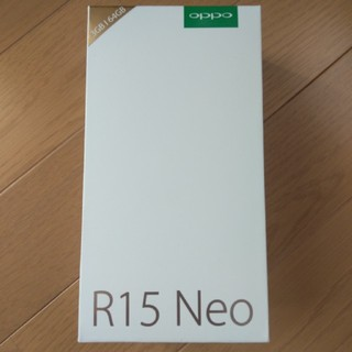 ANDROID - oppo R15neo 3GBモデル ブルー