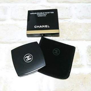 0bde40807399 CHANEL - CHANEL シャネル ミロワール ドゥーブル ファセット コンパクト ...