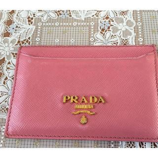 d793150b2310 PRADA - PRADA カードケース 赤の通販 by うに's shop|プラダならラクマ