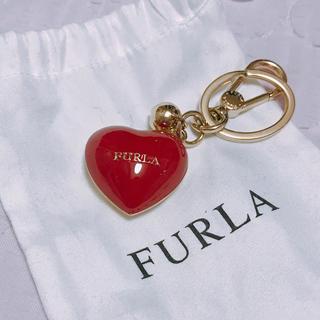 フルラ(Furla)のFURLA♡ハートチャーム(キーホルダー)