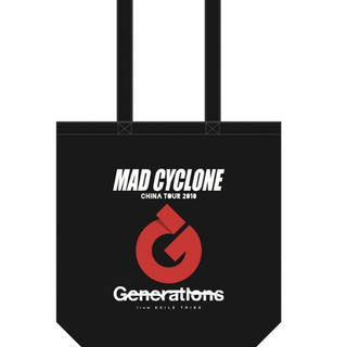 GENERATIONS - GENERATIONS MADCYCLONE CHINATOUR トートバック