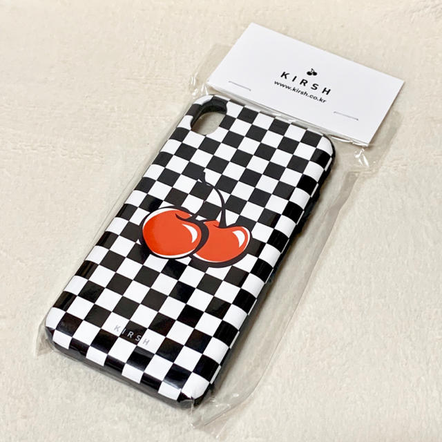 iphonex ケース グッチ 、 【新品】KIRSH iPhoneケース XRの通販 by ちむ's shop|ラクマ