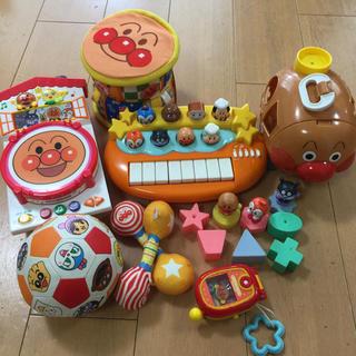 アンパンマン(アンパンマン)のアンパンマン 太鼓 ピアノおもちゃまとめ売り(楽器のおもちゃ)