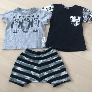 マーキーズ(MARKEY'S)のみかん様専用Tシャツとハーフパンツ、シャツ2枚(Tシャツ)