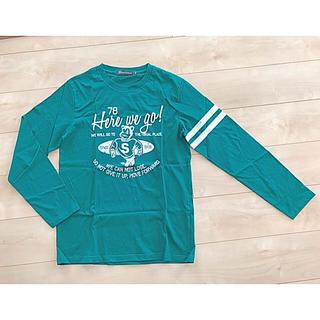 シマムラ(しまむら)のしまむら THRUXTON ロングTシャツ メンズ レディース(Tシャツ/カットソー(七分/長袖))