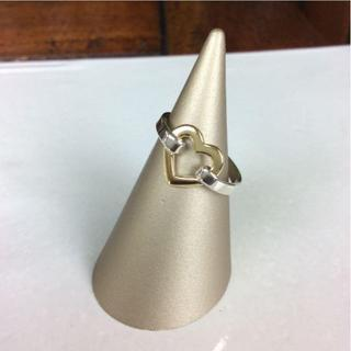 ティファニー(Tiffany & Co.)のティファニー リング ハート SV925 K18 750 A83781(リング(指輪))