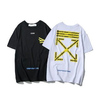 OFF-WHITE - OFFWHITE Tシャツ 2点 男女兼用
