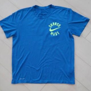 NIKE - NIKE トレーニングウェア ブルー系L メンズTシャツ