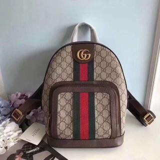 グッチ(Gucci)のGUCCI【OPHIDIA】大注目の GG スモール バックパック(リュック/バックパック)
