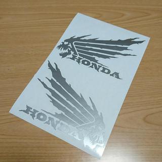 ホンダ(ホンダ)の【送料込み】カッティングステッカー ホンダ HONDA ウィング スカル(その他)