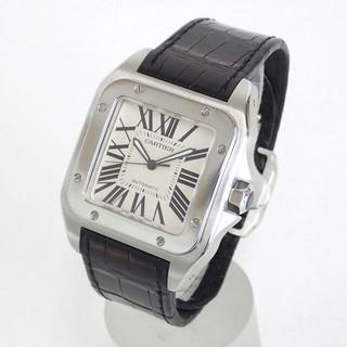 Cartier - カルティエ CARTIER サントス 100 LM メンズ 腕時計