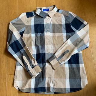 BURBERRY BLUE LABEL - ブルーレーベルクレストブリッジ チェックシャツ used 38