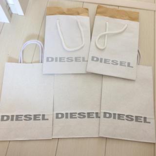 ディーゼル(DIESEL)のディーゼル 紙袋 5枚(ショップ袋)