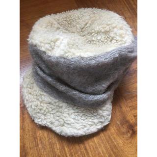 カシラ(CA4LA)のCA4LAのモコモコキャップ(ニット帽/ビーニー)