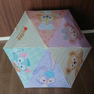 ダッフィー(ダッフィー)の新作 ダッフィー&フレンズ 折り畳み傘(傘)