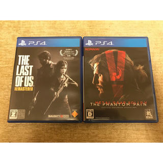 PlayStation4 - PS4 ラストオブアス メタルギアソリッド5
