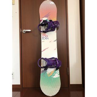 エラン(Elan)のスノボ板、ビンディング、靴など色々セット(ボード)