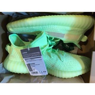 adidas - 27.5 新品 YEEZY BOOST 350 V2 GID glow グロウ