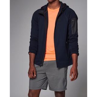 アバクロンビーアンドフィッチ(Abercrombie&Fitch)のアバクロ active full-zip hoodie Mサイズ 新品未使用(パーカー)