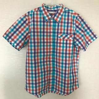 ジーユー(GU)のジーユー チェックシャツ 140(ブラウス)