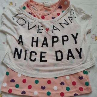 アナップキッズ(ANAP Kids)のTシャツセット(Tシャツ/カットソー)