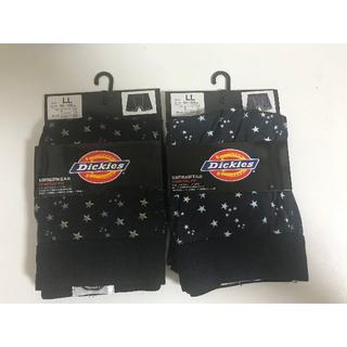 ディッキーズ(Dickies)のDickiesメンズボクサーパンツ2枚セットスター柄LLサイズ新品(ボクサーパンツ)