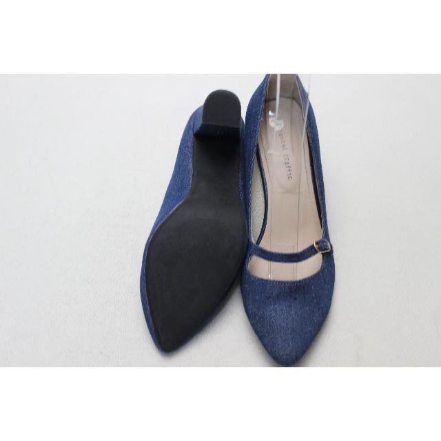 ORiental TRaffic(オリエンタルトラフィック)の58■ORiental TRaffic 豚革ワンストラップパンプス(39)超美品 レディースの靴/シューズ(ハイヒール/パンプス)の商品写真