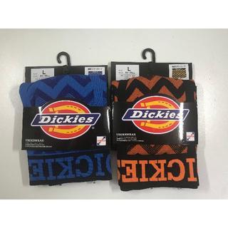 ディッキーズ(Dickies)のDICKIESメンズボクサーパンツスウエーブ柄2枚セットLサイズ/新品(ボクサーパンツ)