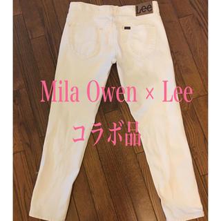 Lee - Mila Owen ミラオーエン とLee のコラボ ホワイトデニム