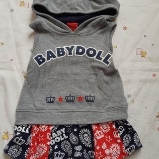 ベビードール(BABYDOLL)のBABYDOLLノースリーブチュニック(Tシャツ)