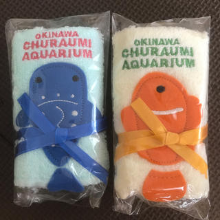 美ら海水族館 ハンドタオルセット(タオル/バス用品)