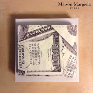 マルタンマルジェラ(Maison Martin Margiela)の新品■マルジェラ■18ss■ビル プリント 折財布■ウォレット■財布■5924(折り財布)