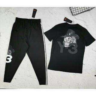 Yohji Yamamoto - Yohji Yamamoto ヨージヤマモト tシャツ ロングパンツ L