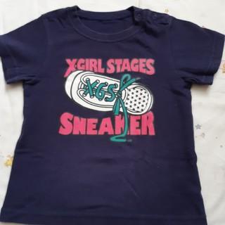 エックスガールステージス(X-girl Stages)のTシャツ(Tシャツ/カットソー)