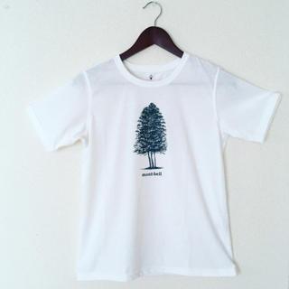 モンベル(mont bell)の白いTシャツ(Tシャツ(半袖/袖なし))