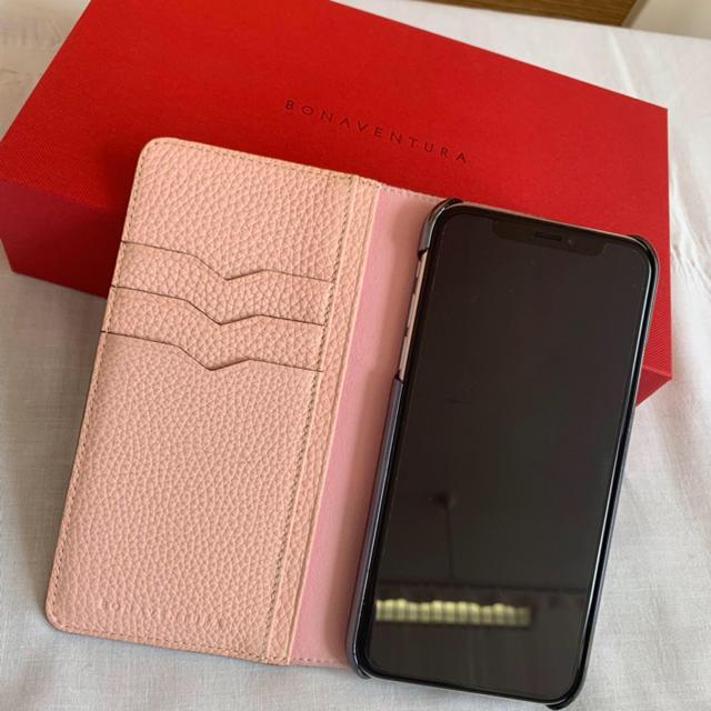iPhone - ymmr様専用 ボナベンチュラ 人気 グレージュ×ピンク iPhonex/xsの通販