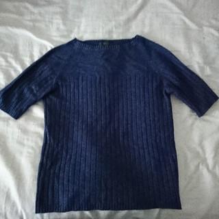 コムサデモード(COMME CA DU MODE)のKIYOKO TAKASE 半袖 ニット(ニット/セーター)