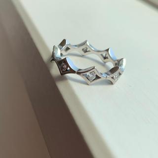 デビアス(DE BEERS)のダイヤモンド k18 リング(リング(指輪))