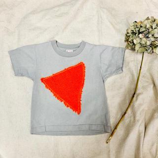 こども ビームス - モコモコ三角のTシャツ 100 キッズ