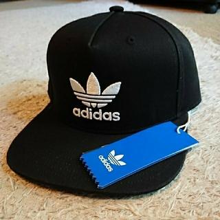 アディダス(adidas)の新品未使用 adidas originals cap 黒 フリーサイズ(キャップ)