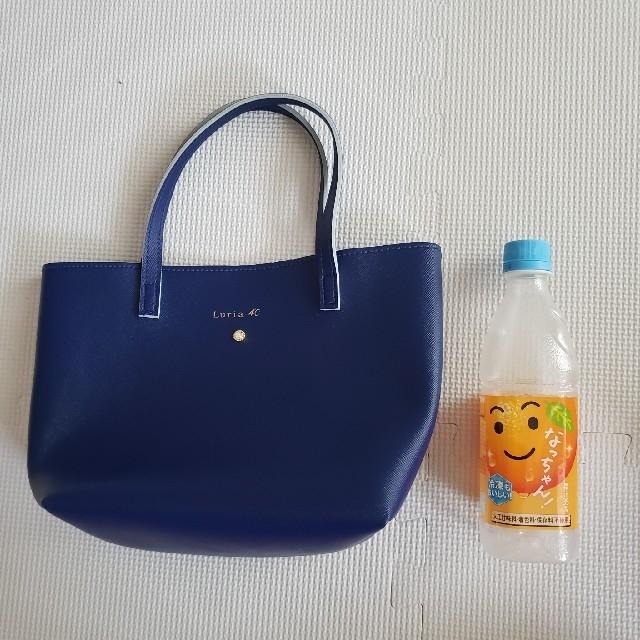 4℃(ヨンドシー)のLuria4℃ ブルートートバッグ  ランチバック レディースのバッグ(トートバッグ)の商品写真
