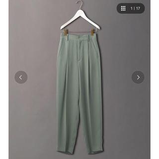BEAUTY&YOUTH UNITED ARROWS - ROKU 6 ジョーゼット タック パンツ 完売