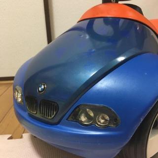 ビーエムダブリュー(BMW)のBMW ベビーレーサー 青 ブルー 車 室内 子供 キックカー  (電車のおもちゃ/車)