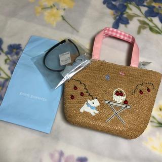 ポンポネット(pom ponette)の♡ポンポネット♡夏らしいバッグandカチューシャセット 新品タグ付き(その他)