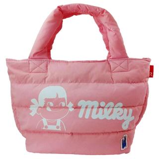 ルートート(ROOTOTE)の【新品】milky×ROOTOTEフェザールートートバッグ(ピンク)(トートバッグ)