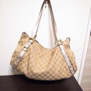 グッチ(Gucci)の最安値♡グッチ トートバッグ ベージュ(トートバッグ)