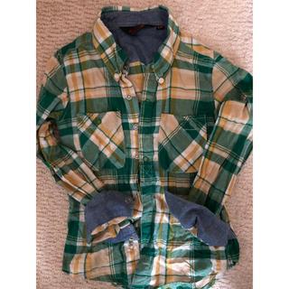 クリフメイヤー(KRIFF MAYER)の美品⭐︎クリフメイヤー シワ加工シャツ 130cm(ジャケット/上着)