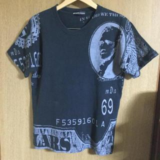 グランドキャニオン(GRAND CANYON)のGDC GRAND CANYON x ALAPAAP コラボ限定 ドル柄Tシャツ(Tシャツ/カットソー(半袖/袖なし))