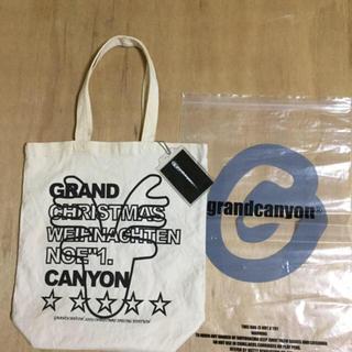 グランドキャニオン(GRAND CANYON)のGDC GRAND CANYON トートバッグ 新品 チェーンタグ 保存袋付き(トートバッグ)